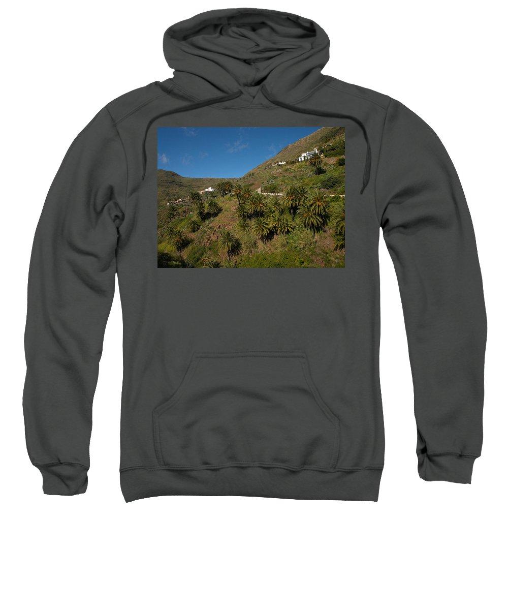 Landscape Sweatshirt featuring the photograph Masca Valley And Parque Rural De Teno 3 by Jouko Lehto