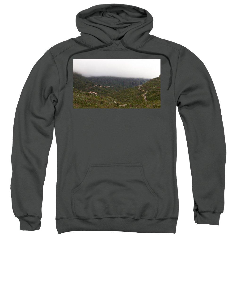 Landscape Sweatshirt featuring the photograph Masca Valley And Parque Rural De Teno 6 by Jouko Lehto