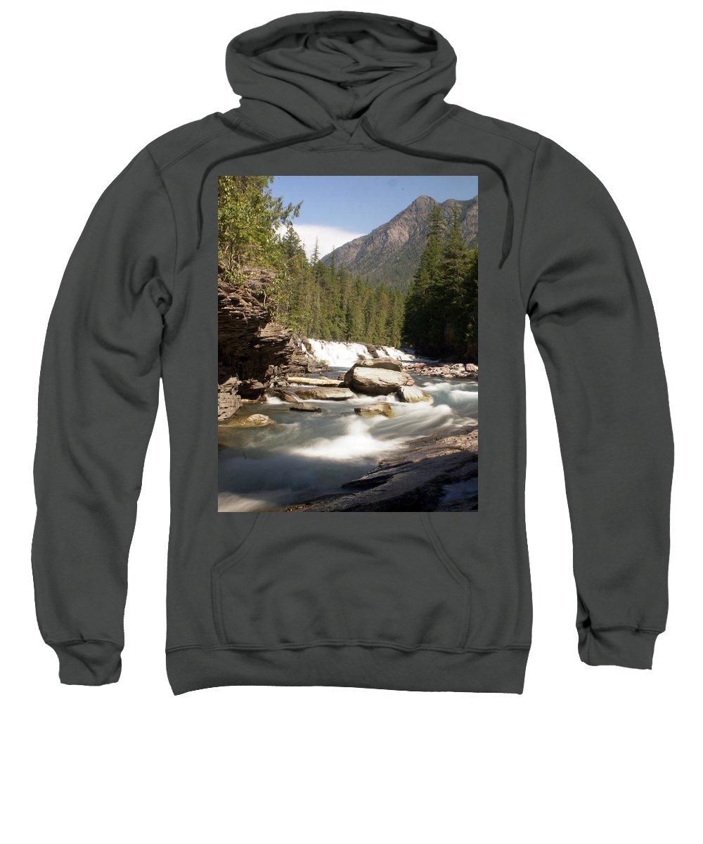 Montana Sweatshirt featuring the photograph Mcdonald Creek 2 by Marty Koch
