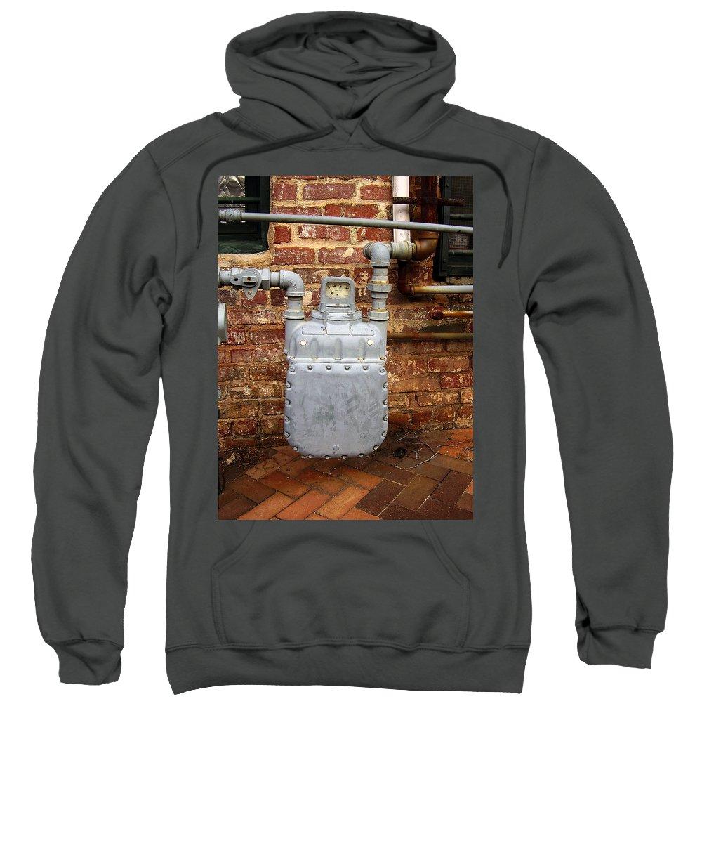 Meter Sweatshirt featuring the photograph Meter II In Athens Ga by Flavia Westerwelle