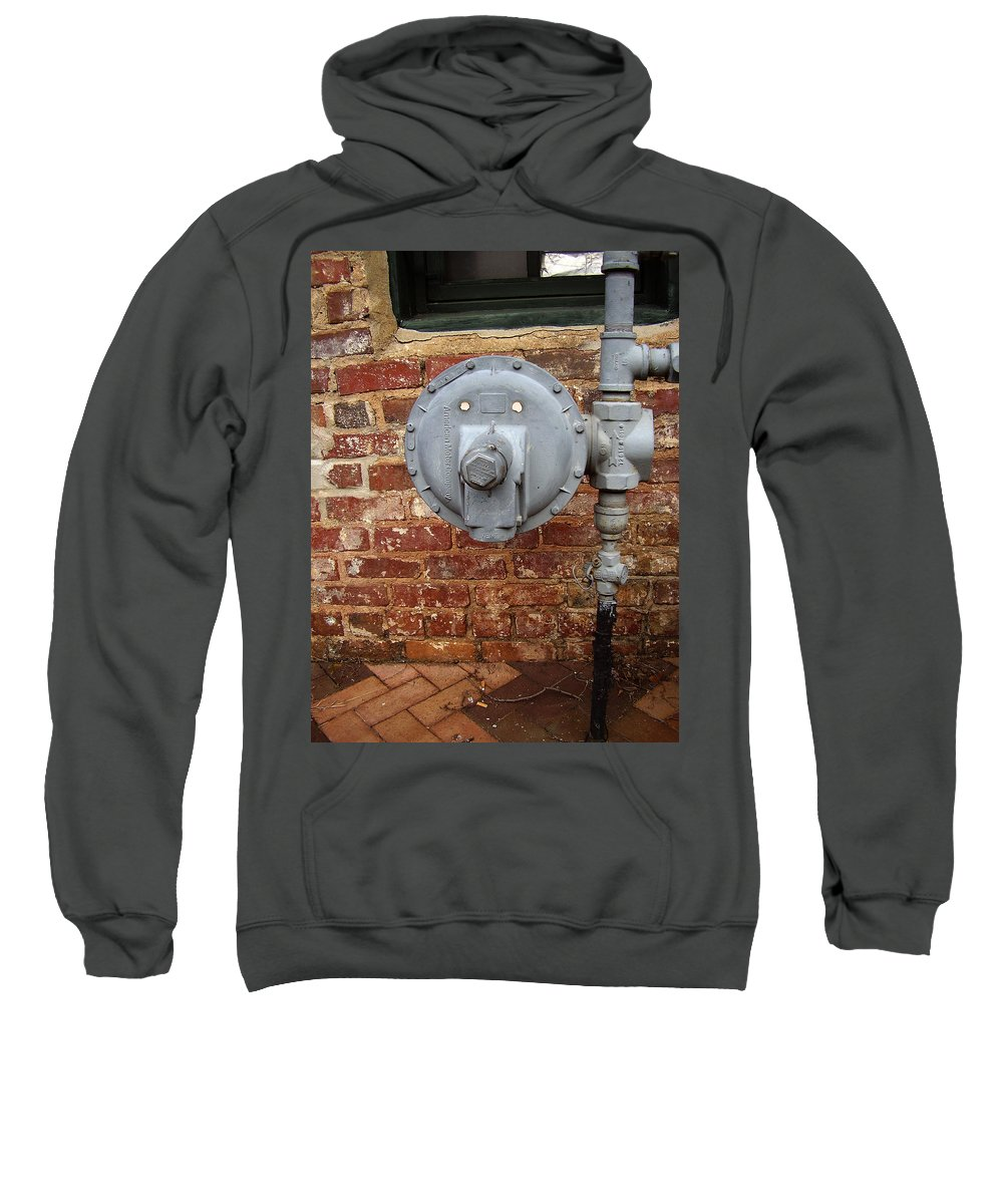 Meter Sweatshirt featuring the photograph Meter In Athens Ga by Flavia Westerwelle