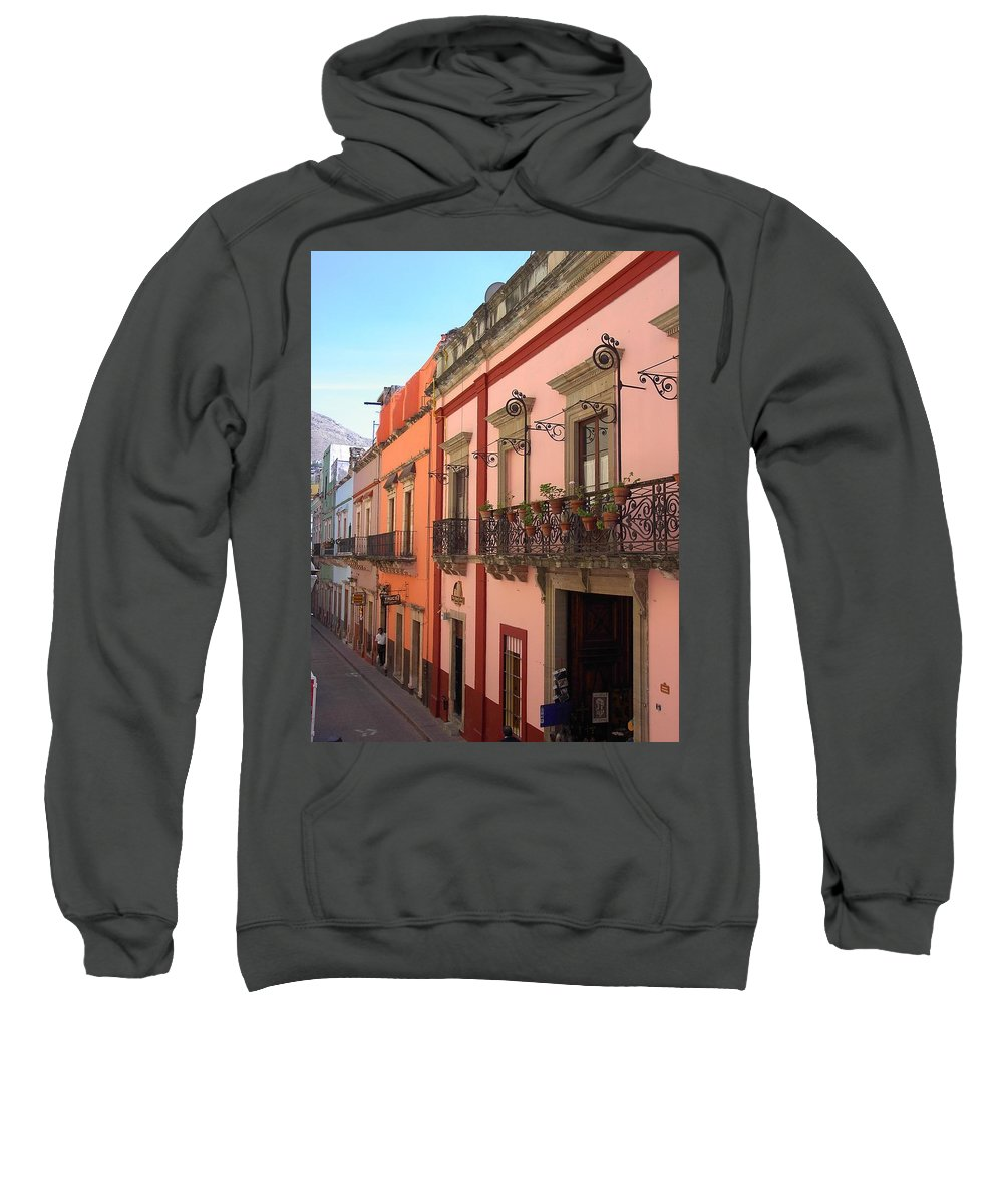 Charity Sweatshirt featuring the photograph Mexico by Mary-Lee Sanders