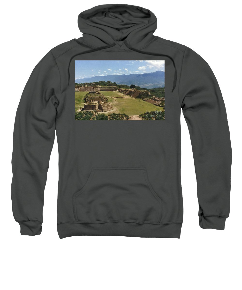 American Indian Sweatshirt featuring the photograph Mexico: Monte Alban by Granger