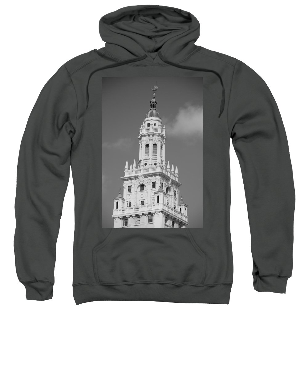 Architecture Sweatshirt featuring the photograph Miami Tower by Rob Hans
