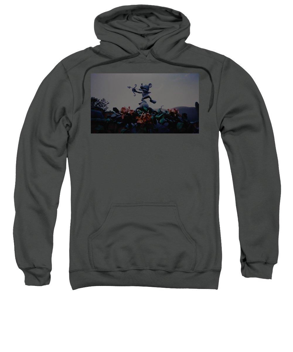 Micky Mouse Sweatshirt featuring the photograph Mickey Mouse by Rob Hans