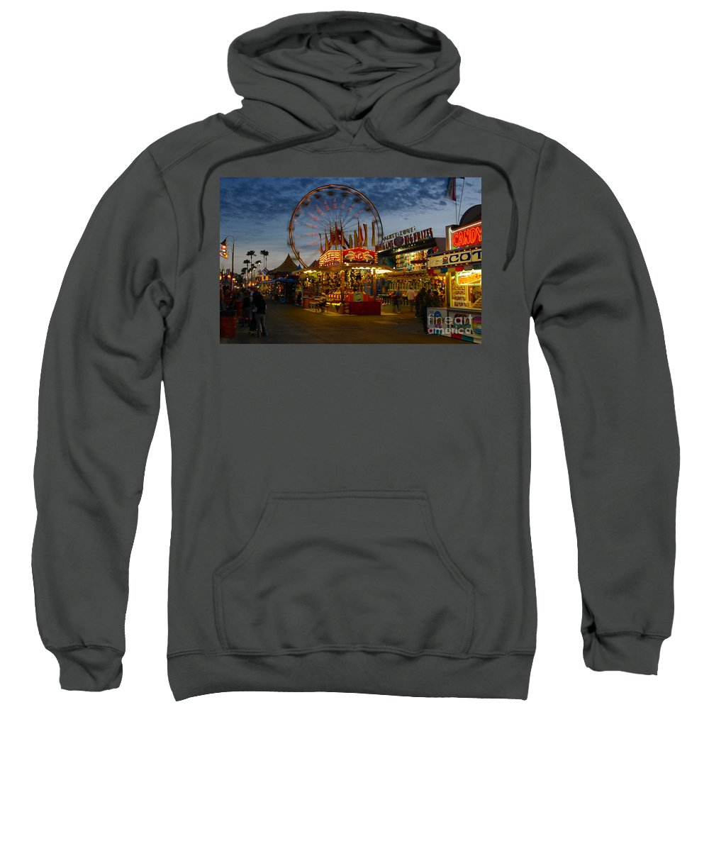 Midway Sweatshirt featuring the photograph Midway by David Lee Thompson
