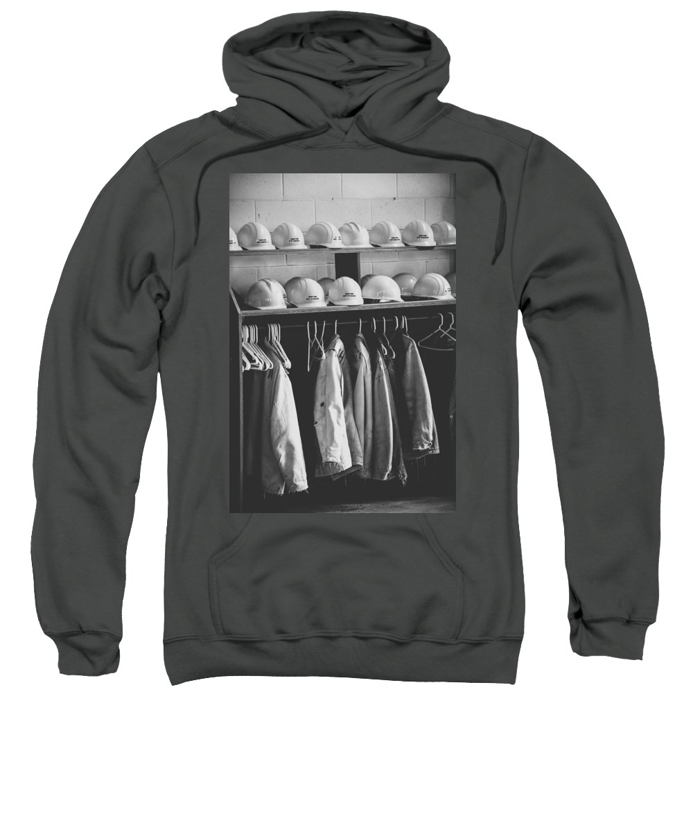 Mine Sweatshirt featuring the photograph Mine Protection by Wesley Farnsworth