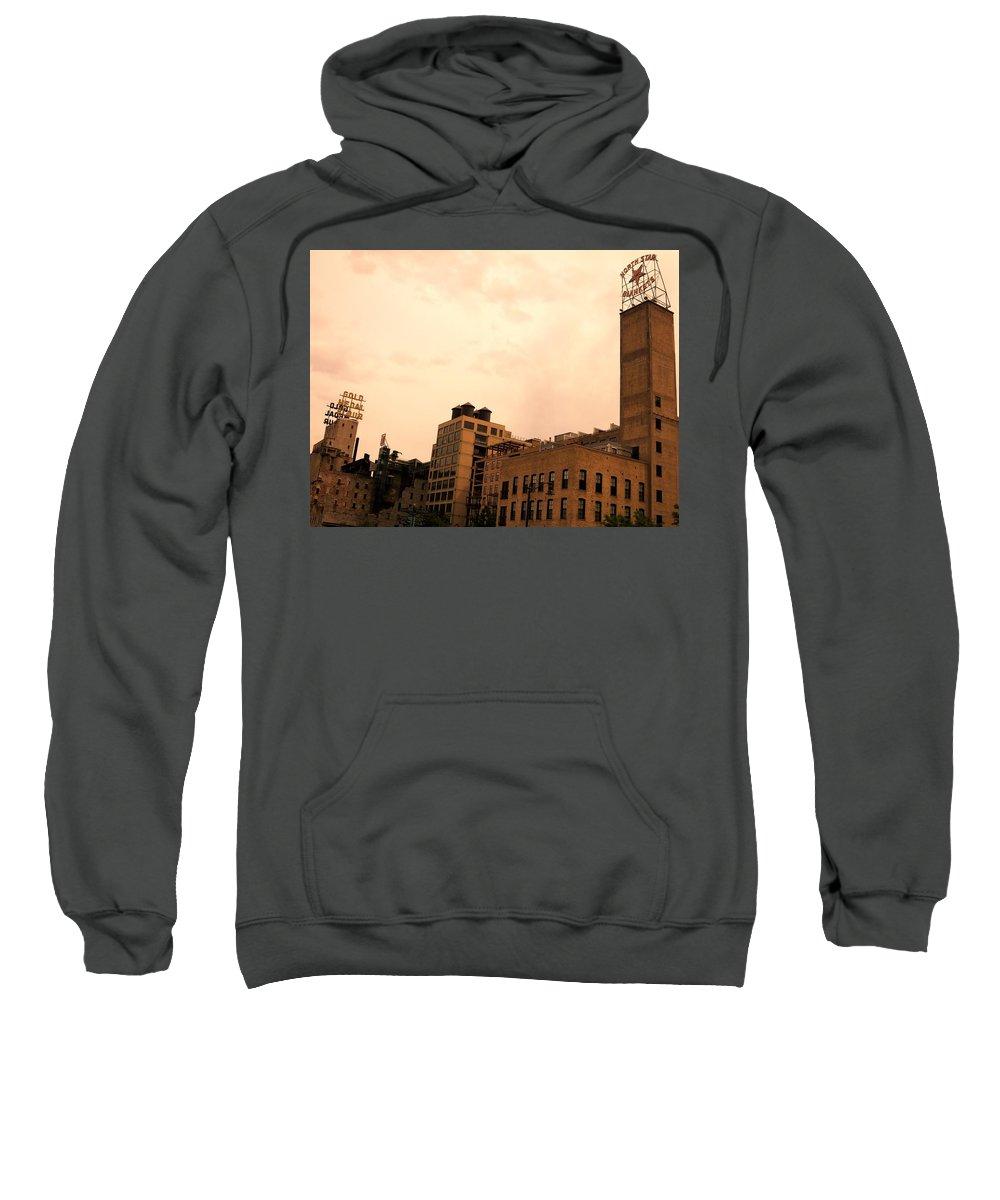 Minnesota Sweatshirt featuring the photograph Minnesota Dream by Cara Poalillo