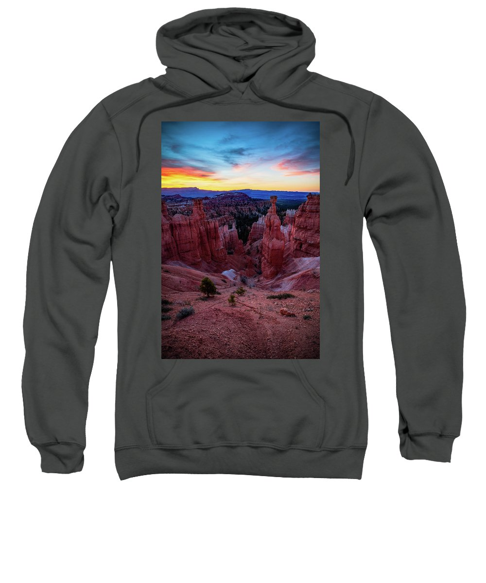 Amaizing Sweatshirt featuring the photograph Thor's Light by Edgars Erglis