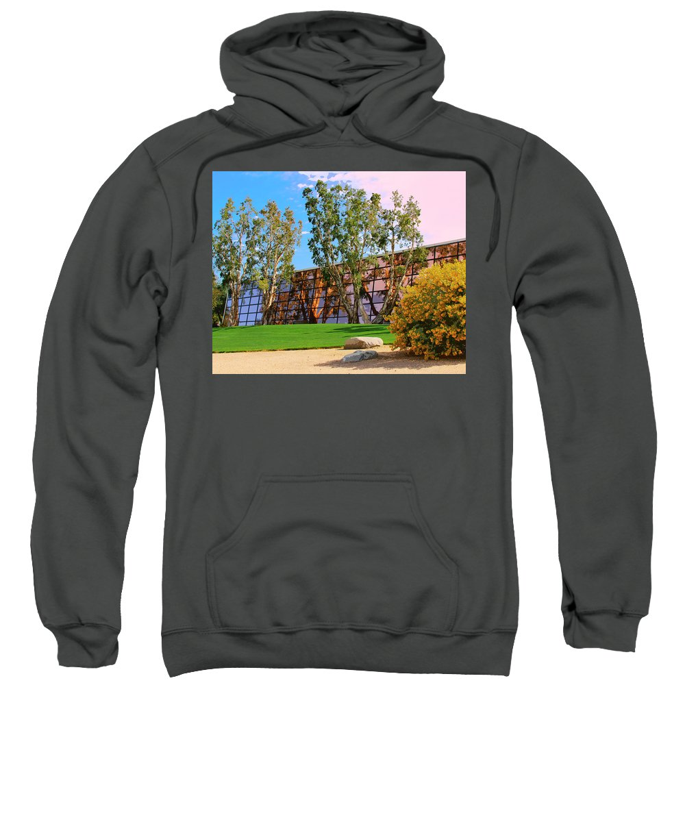 Palm Springs Sweatshirt featuring the photograph Mirror 2 by William Dey