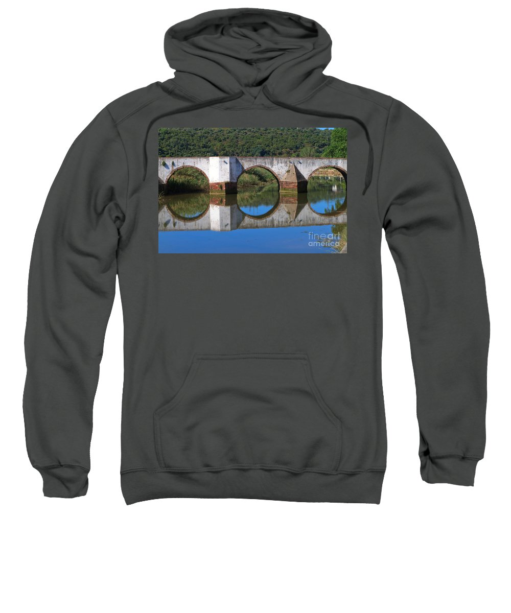 Ponte Romana Sweatshirt featuring the photograph Mirror by Louise Heusinkveld
