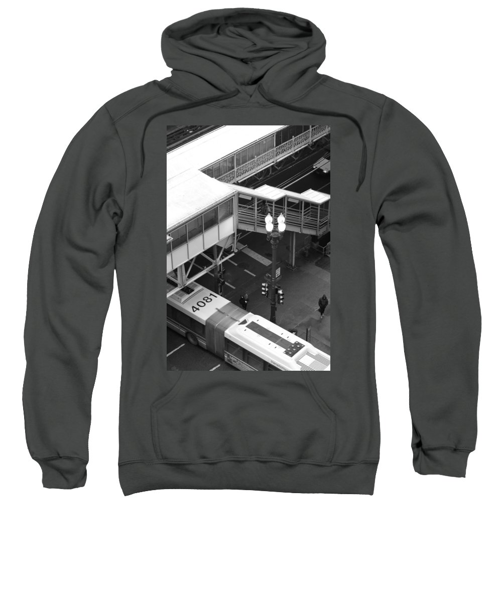 Train Sweatshirt featuring the photograph Modes Of Transportation by Lauri Novak