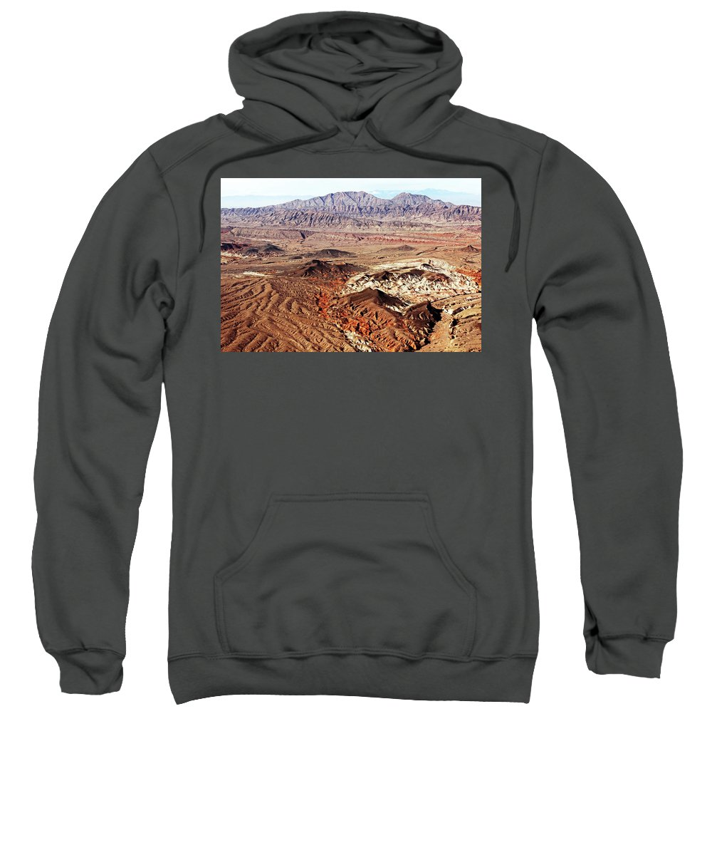 Desert Sweatshirt featuring the photograph Mojave Desert Magic by Debbie Oppermann