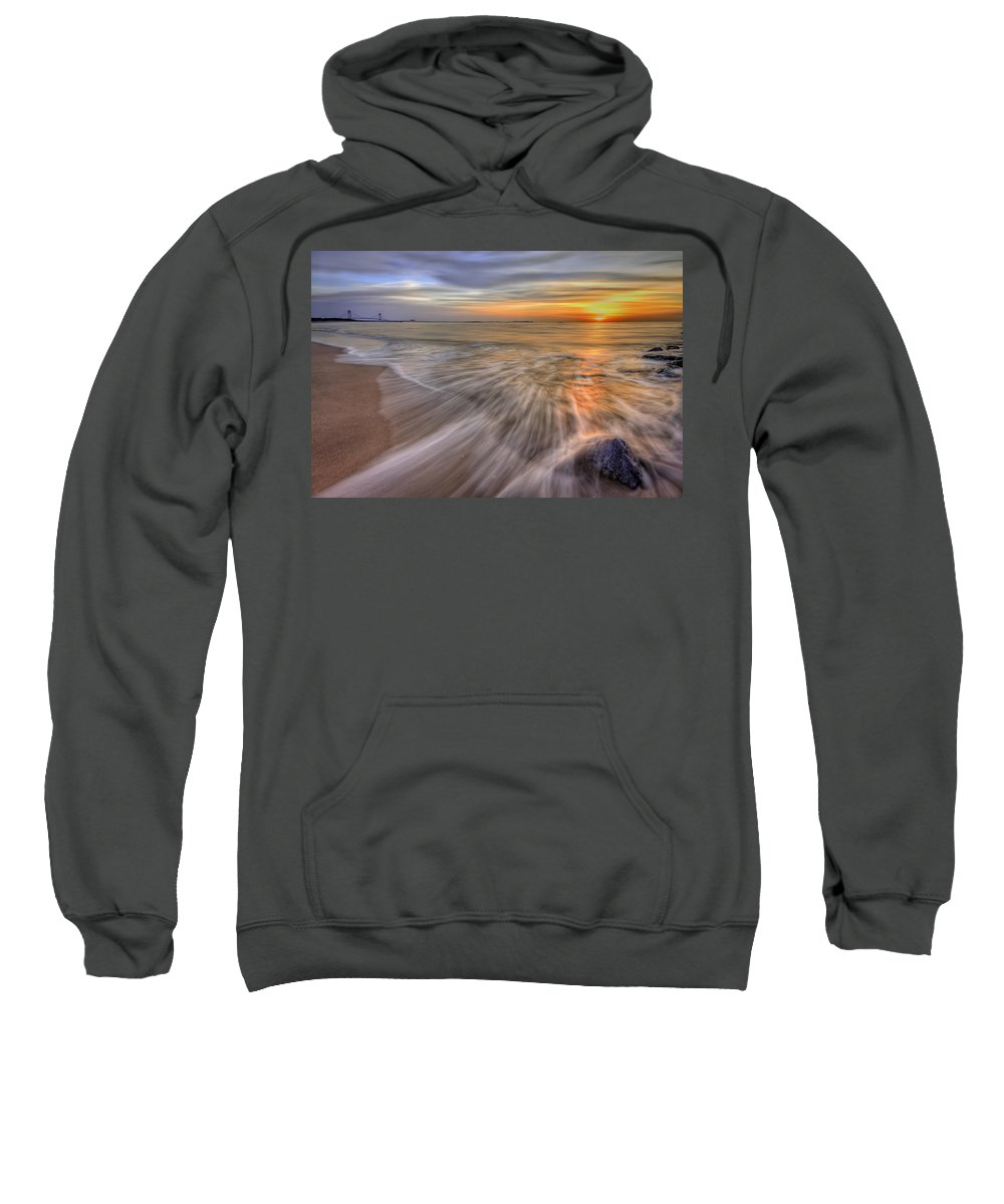Sun Sweatshirt featuring the photograph Monday Morning by Evelina Kremsdorf