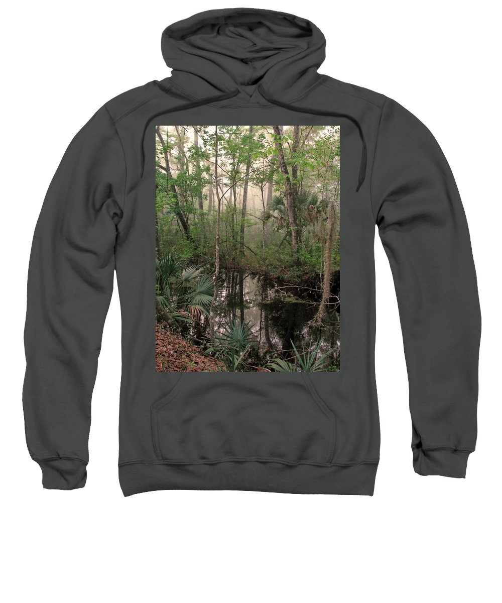 Nature Sweatshirt featuring the photograph Morning Comes Softly by Peg Urban