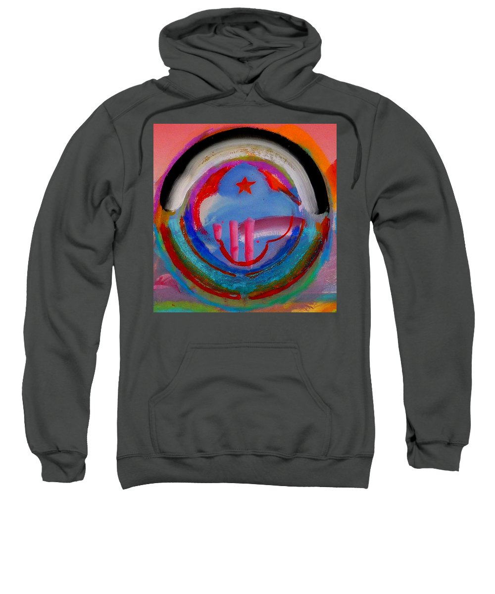 Logo Sweatshirt featuring the painting Morning Light by Charles Stuart