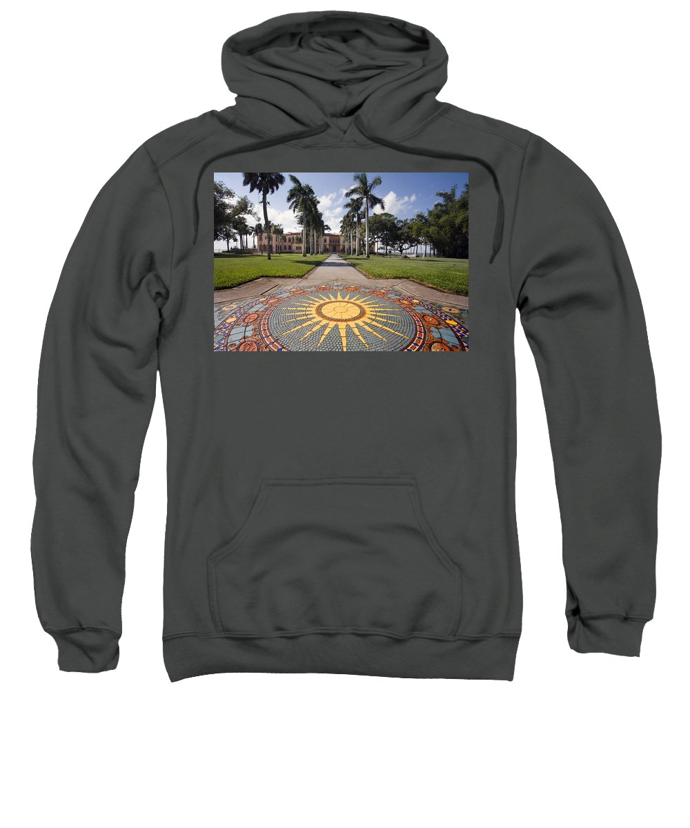 Mosaic Sweatshirt featuring the photograph Mosaic At The Ca D by Mal Bray