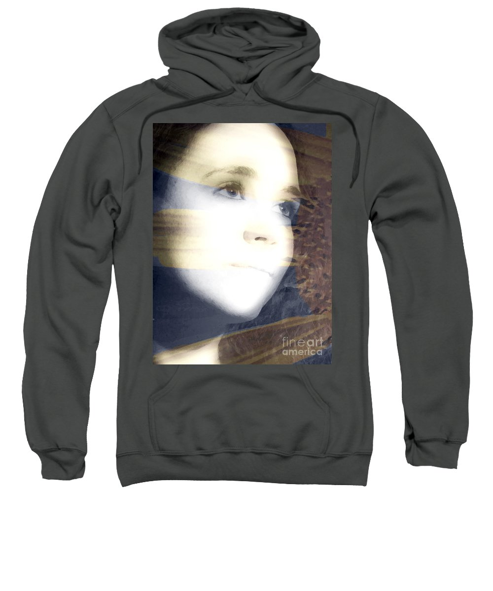 Modern Sweatshirt featuring the photograph Mother Nature by Amanda Barcon