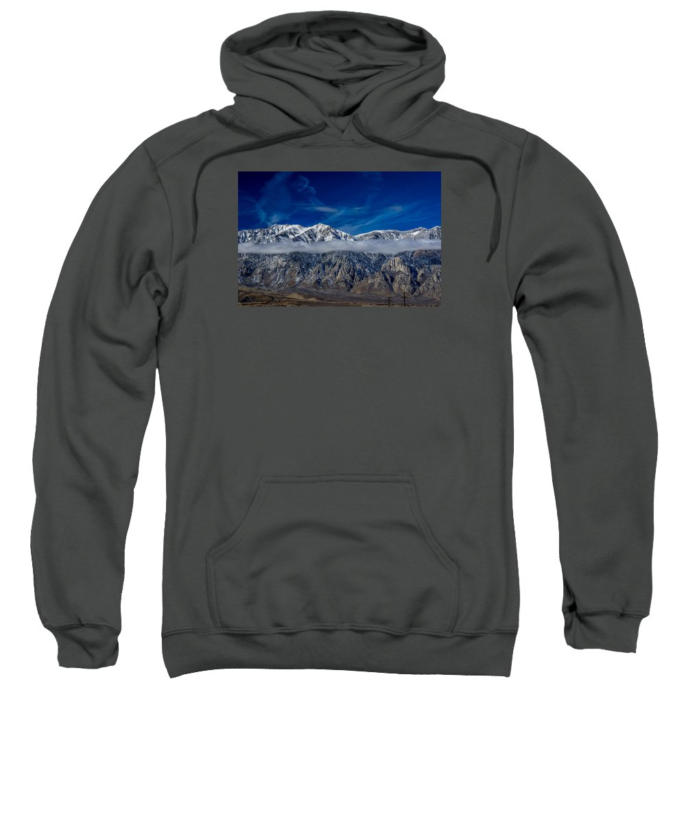 Mountains Sweatshirt featuring the photograph Mountain Cloud by Kevin Beggs