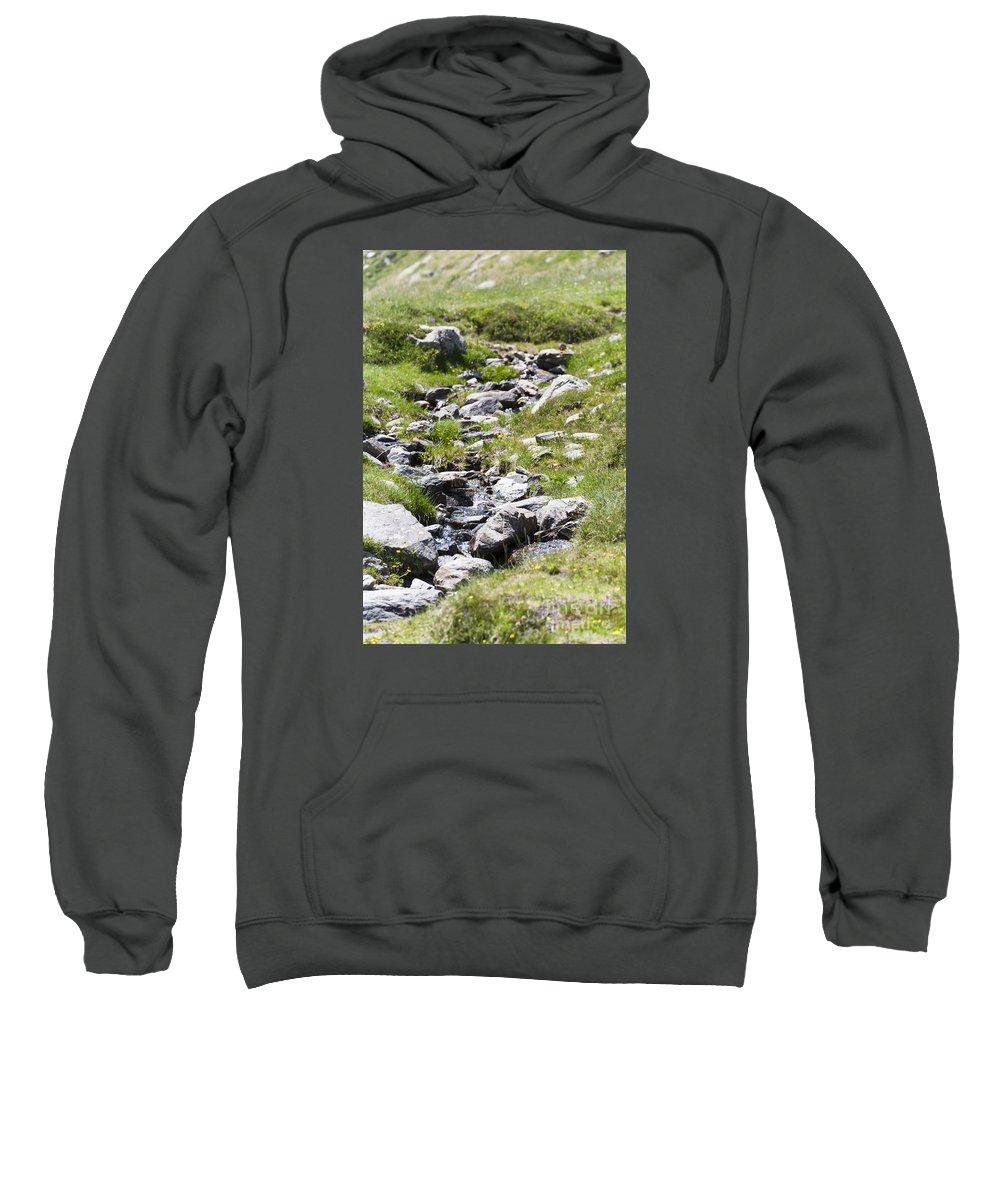 Creek Sweatshirt featuring the photograph Mountain Creek by Lasse Ansaharju