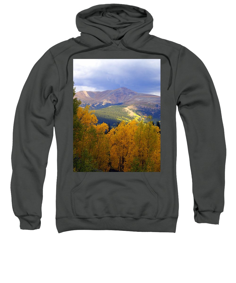 Colorado Sweatshirt featuring the photograph Mountain Fall by Marty Koch