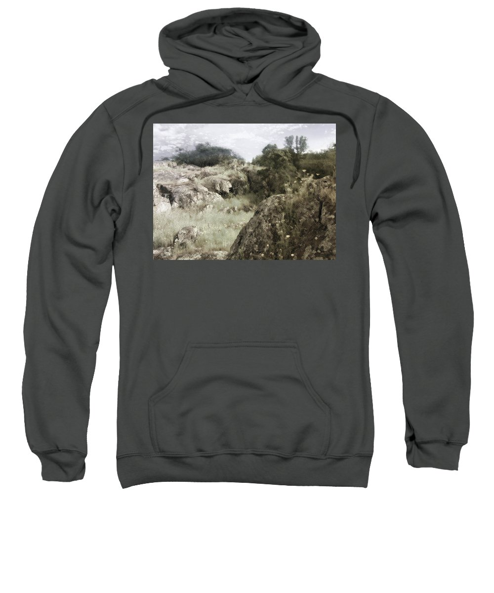 Landscape Sweatshirt featuring the photograph Mountain Lion Country by Karen W Meyer