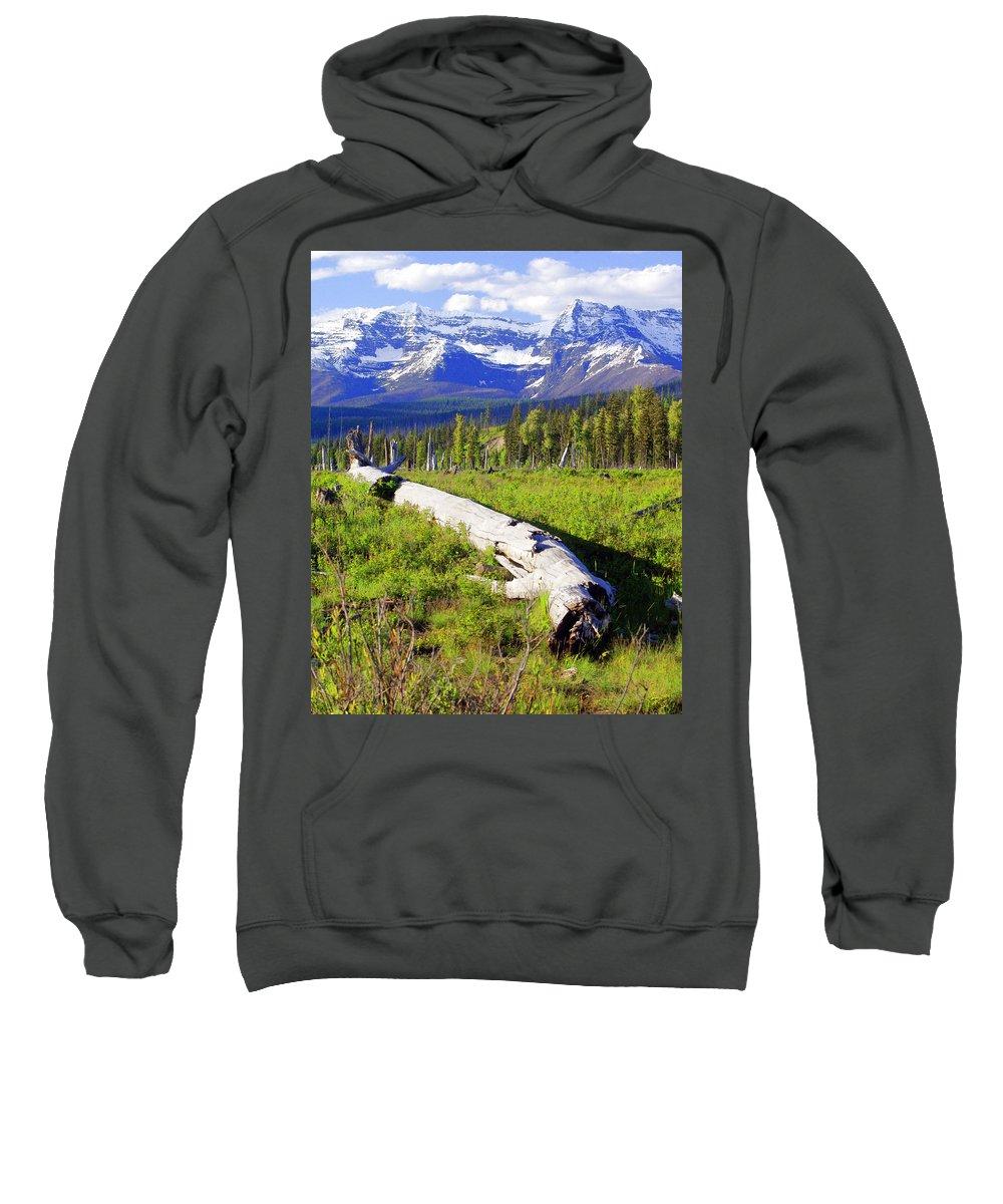 Mountain Sweatshirt featuring the photograph Mountain Splendor by Marty Koch