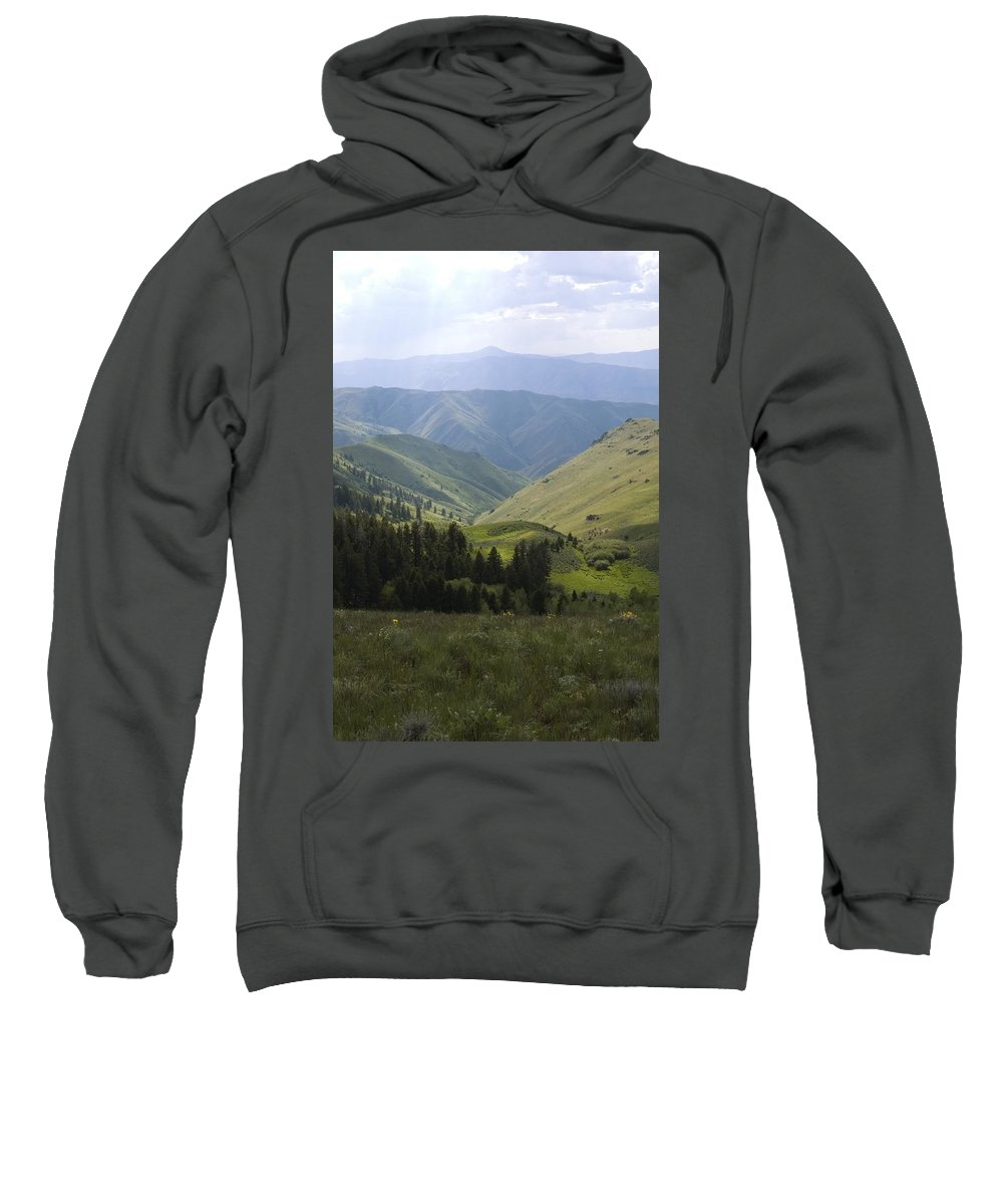 Mountain Sweatshirt featuring the photograph Mountain Top 6 by Sara Stevenson