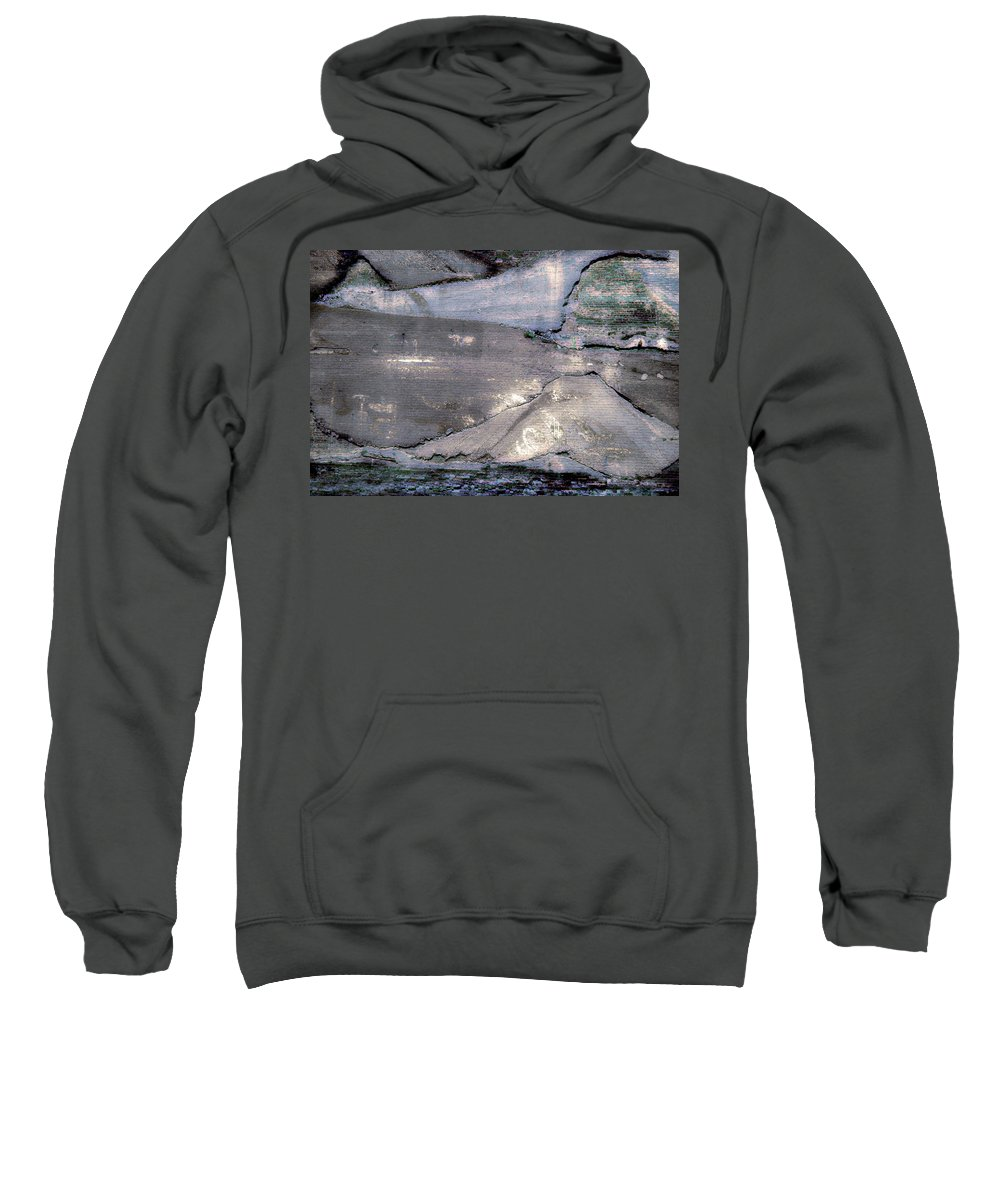 Abstract Sweatshirt featuring the photograph Mountains To The Sea Abstract by Gray Artus