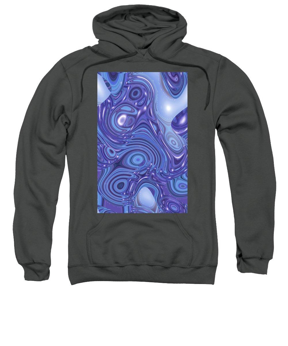 Moveonart! Digital Gallery Sweatshirt featuring the digital art Moveonart Change Of Atmosphere by Jacob Kanduch