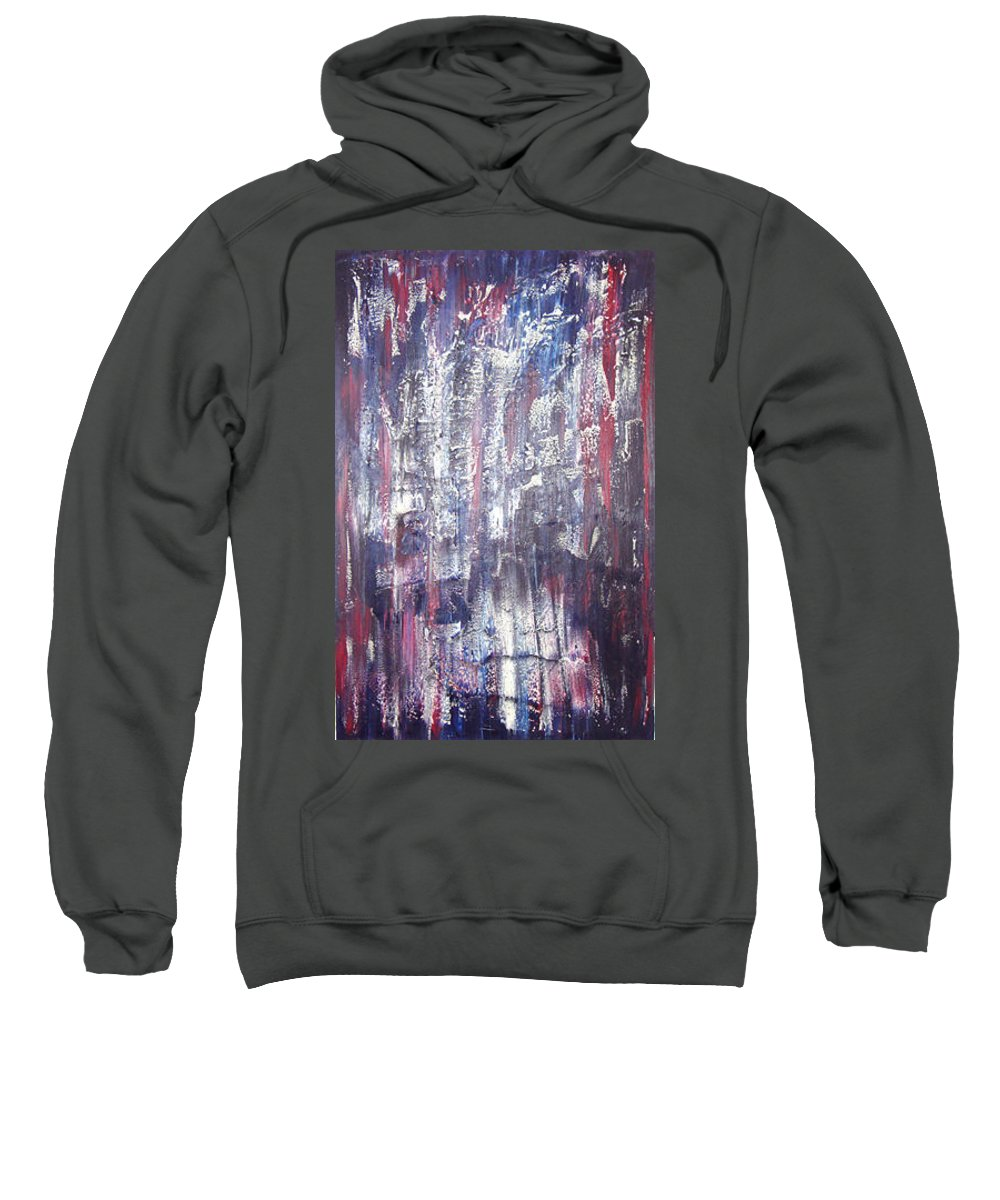 Moveonart! Digital Gallery Sweatshirt featuring the painting Moveonart Deep Calling Deep by Jacob Kanduch