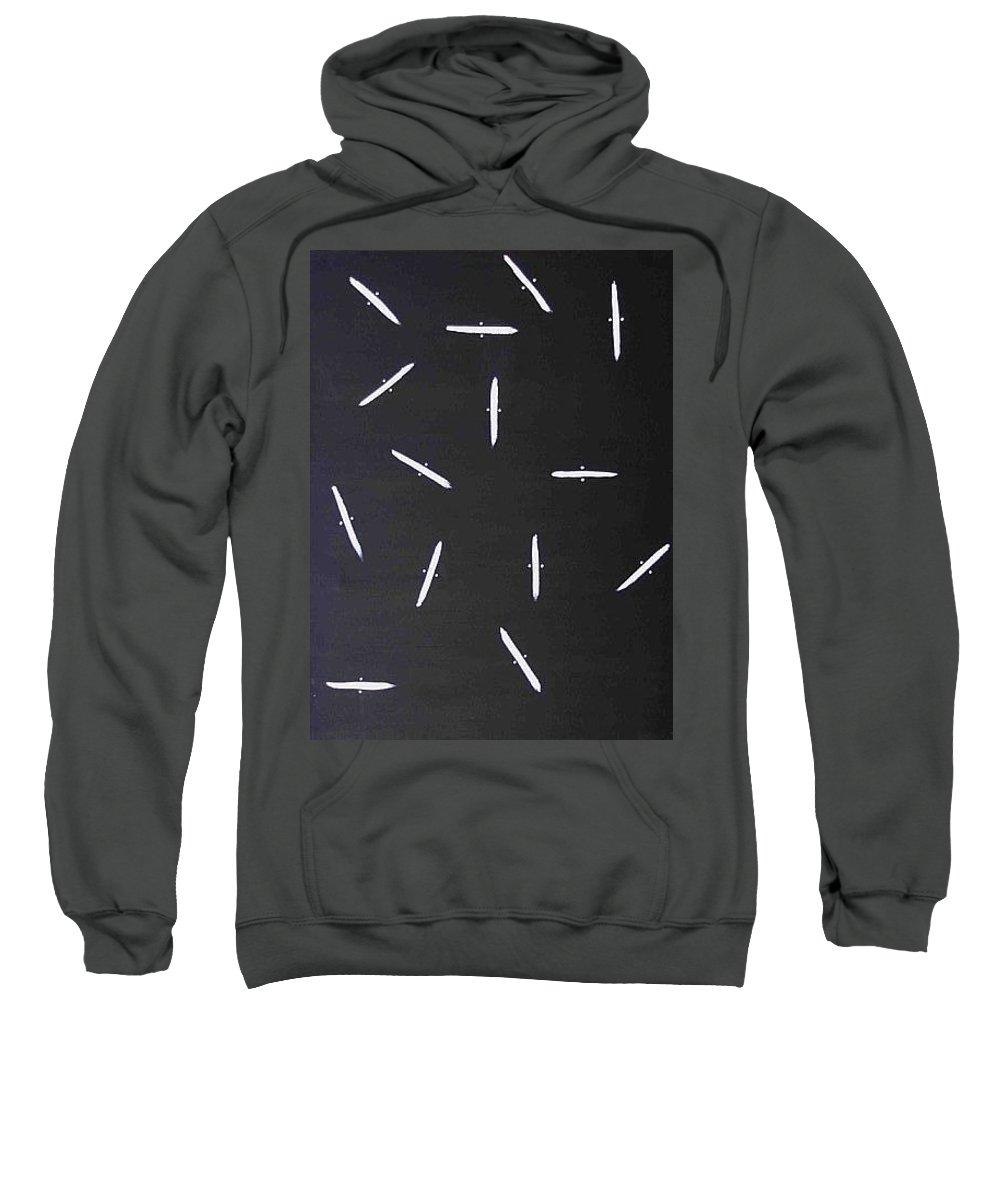 Moveonart! Digital Gallery Sweatshirt featuring the painting Moveonart Guidance by Jacob Kanduch
