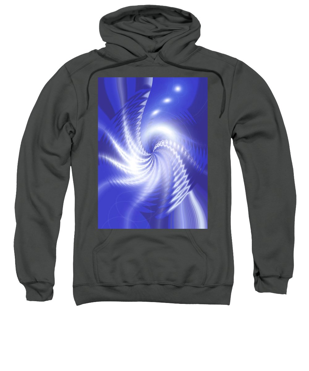 Moveonart! Global Gathering. -- Jacob Kane -- Omnetra Sweatshirt featuring the digital art Moveonart Newdaydawning by Jacob Kanduch