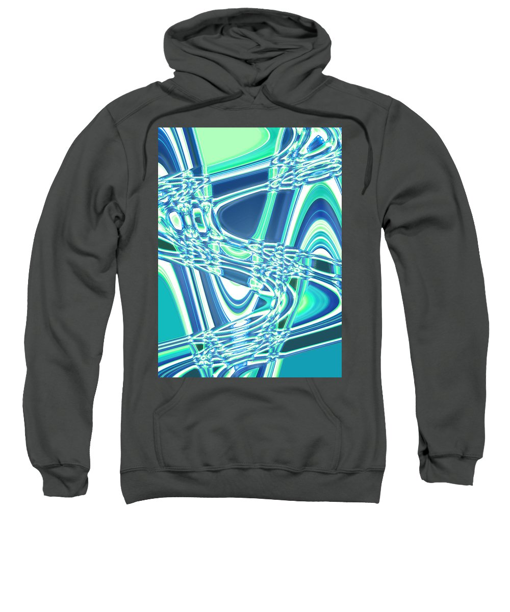 Moveonart! Digital Gallery Sweatshirt featuring the digital art Moveonart Sharing Our Strength by Jacob Kanduch