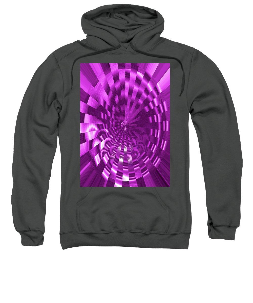 Moveonart! Global Gathering. Jacob Kane -- Omnetra Sweatshirt featuring the digital art Moveonart Stirring Up Creativity by Jacob Kanduch
