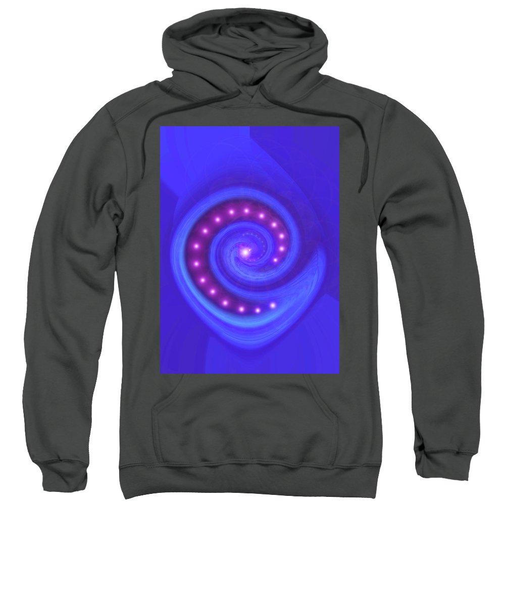 Moveonart! Global Gathering. -- Jacob Kane -- Omnetra Sweatshirt featuring the digital art Moveonart Underground Mission by Jacob Kanduch