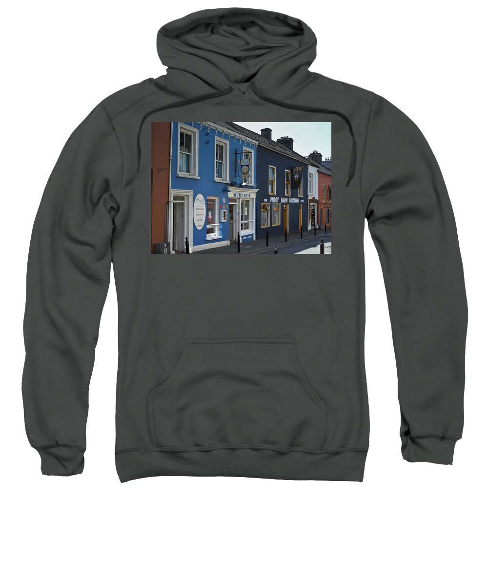 Irish Sweatshirt featuring the photograph Murphys Ice Cream Dingle Ireland by Teresa Mucha