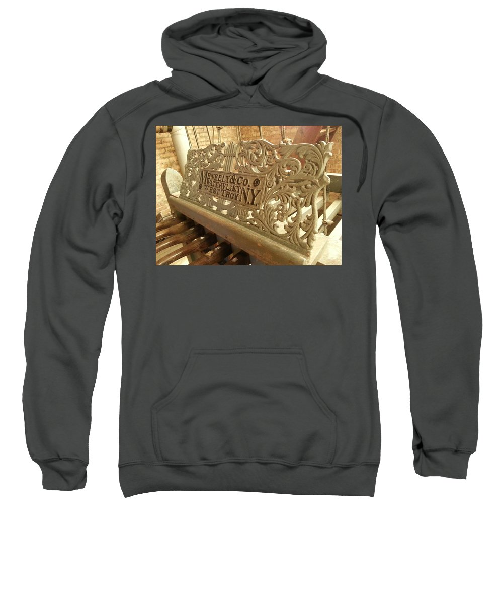 Sweatshirt featuring the photograph Music Holder by Zac AlleyWalker Lowing