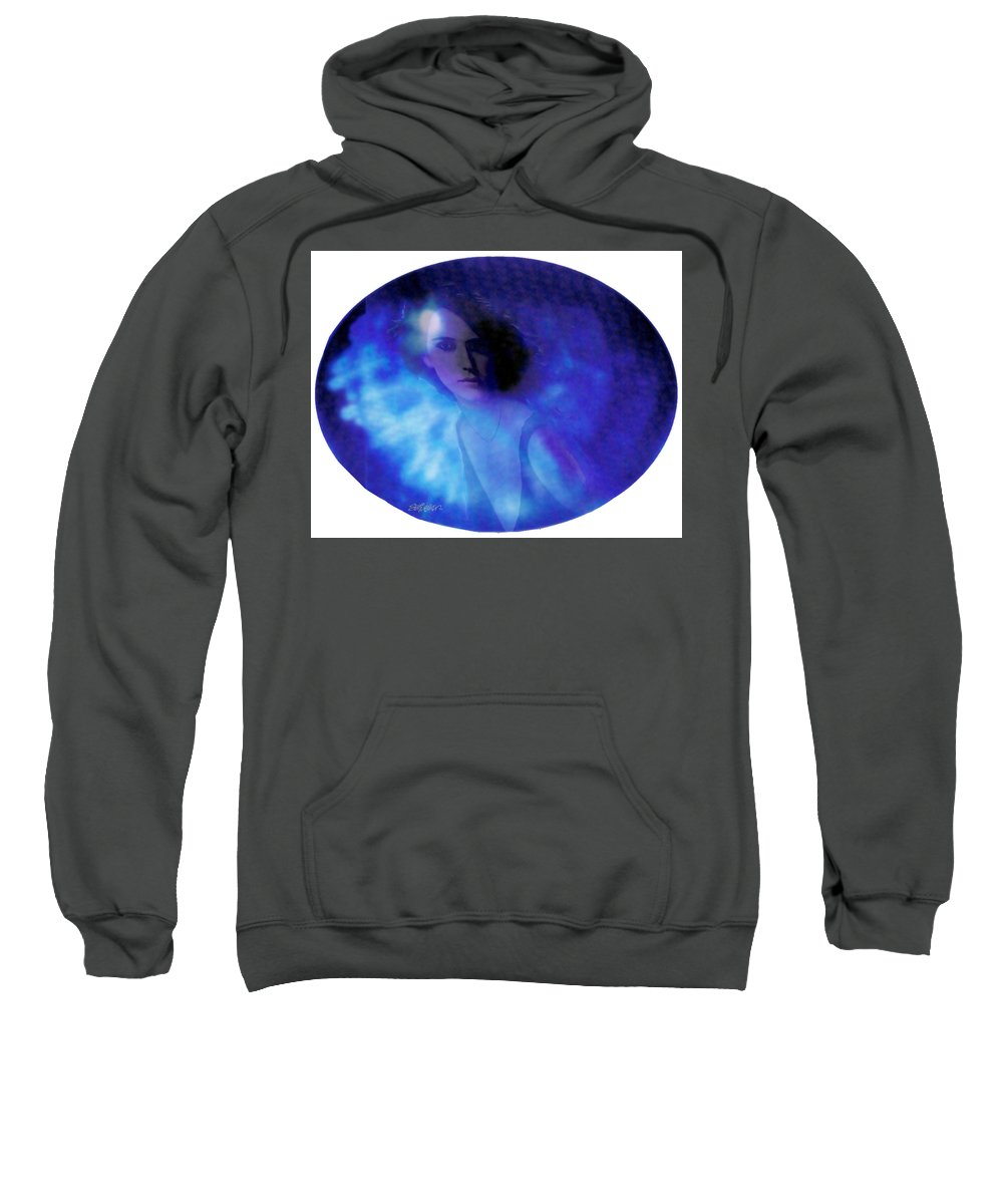 Abstract Sweatshirt featuring the photograph My Eye's Delight by Seth Weaver
