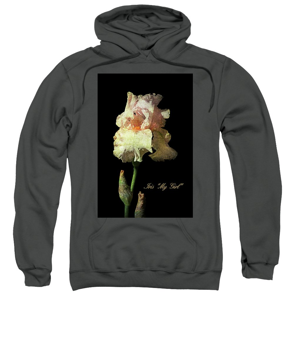 Agriculture Sweatshirt featuring the photograph My Girl Iris by John Trax
