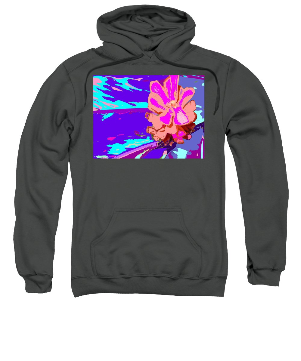 Flower Sweatshirt featuring the photograph Mystical Flower by Ian MacDonald