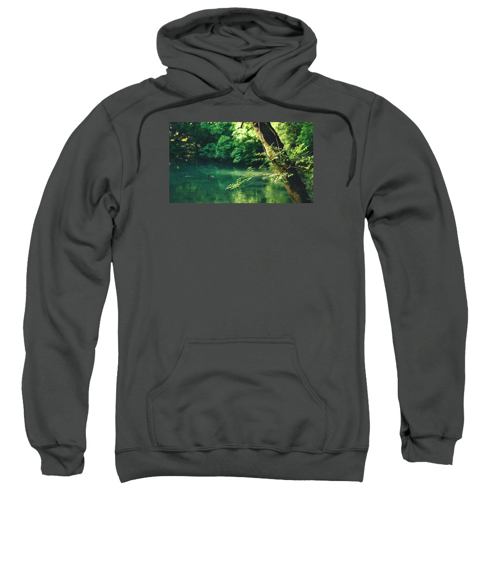 Sweatshirt featuring the photograph N001 Impression 4k by Relaxdaily