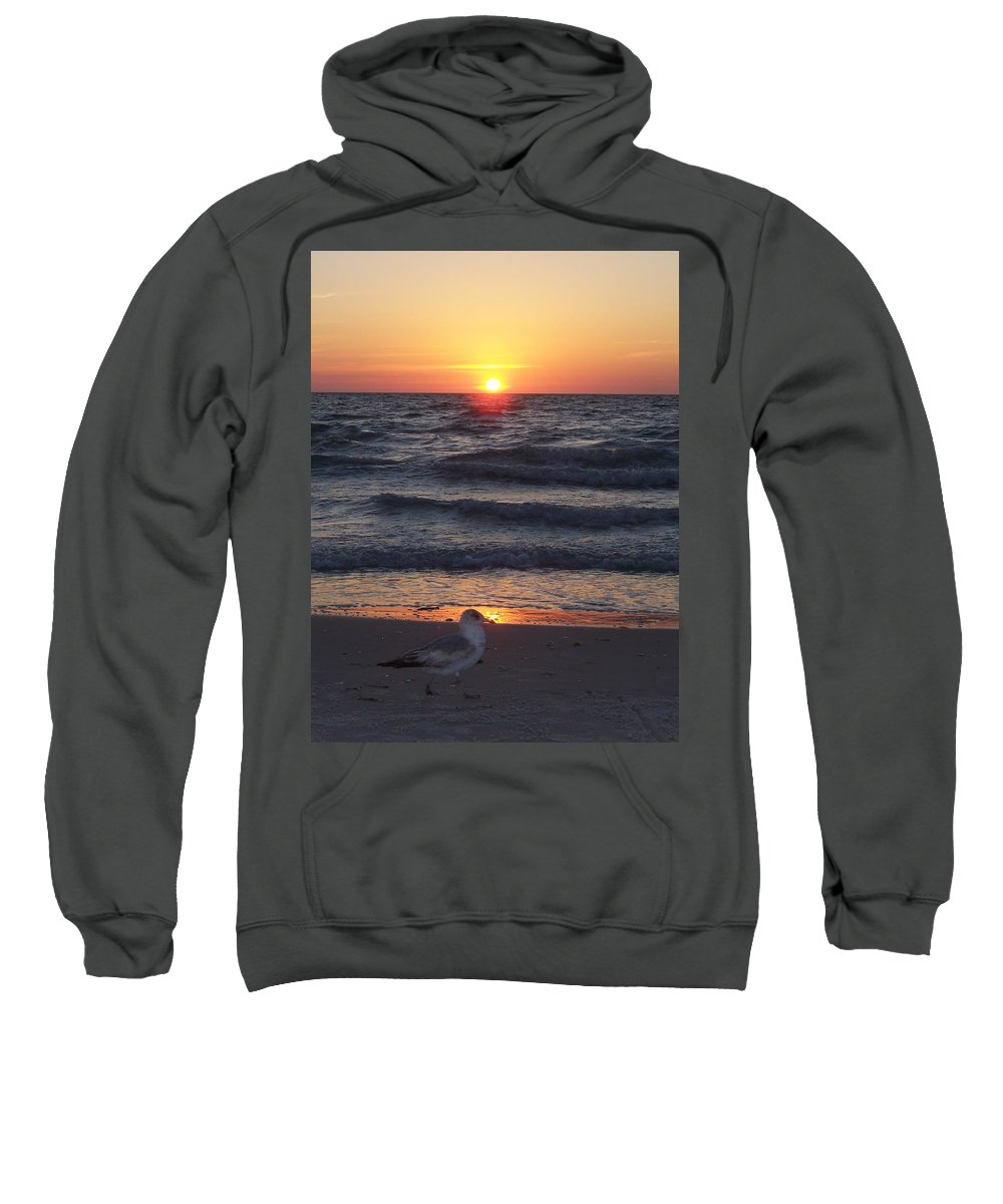 Naples Sweatshirt featuring the photograph Naples Sunset 0042 by Laurie Paci