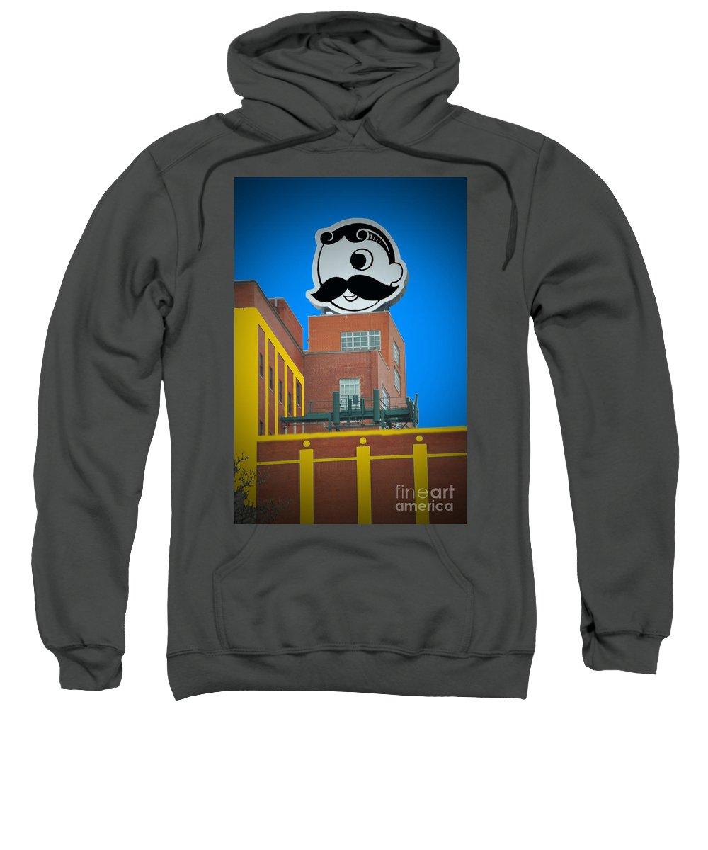 Gunther Sweatshirt featuring the photograph Natty Boh Skyline by Jost Houk