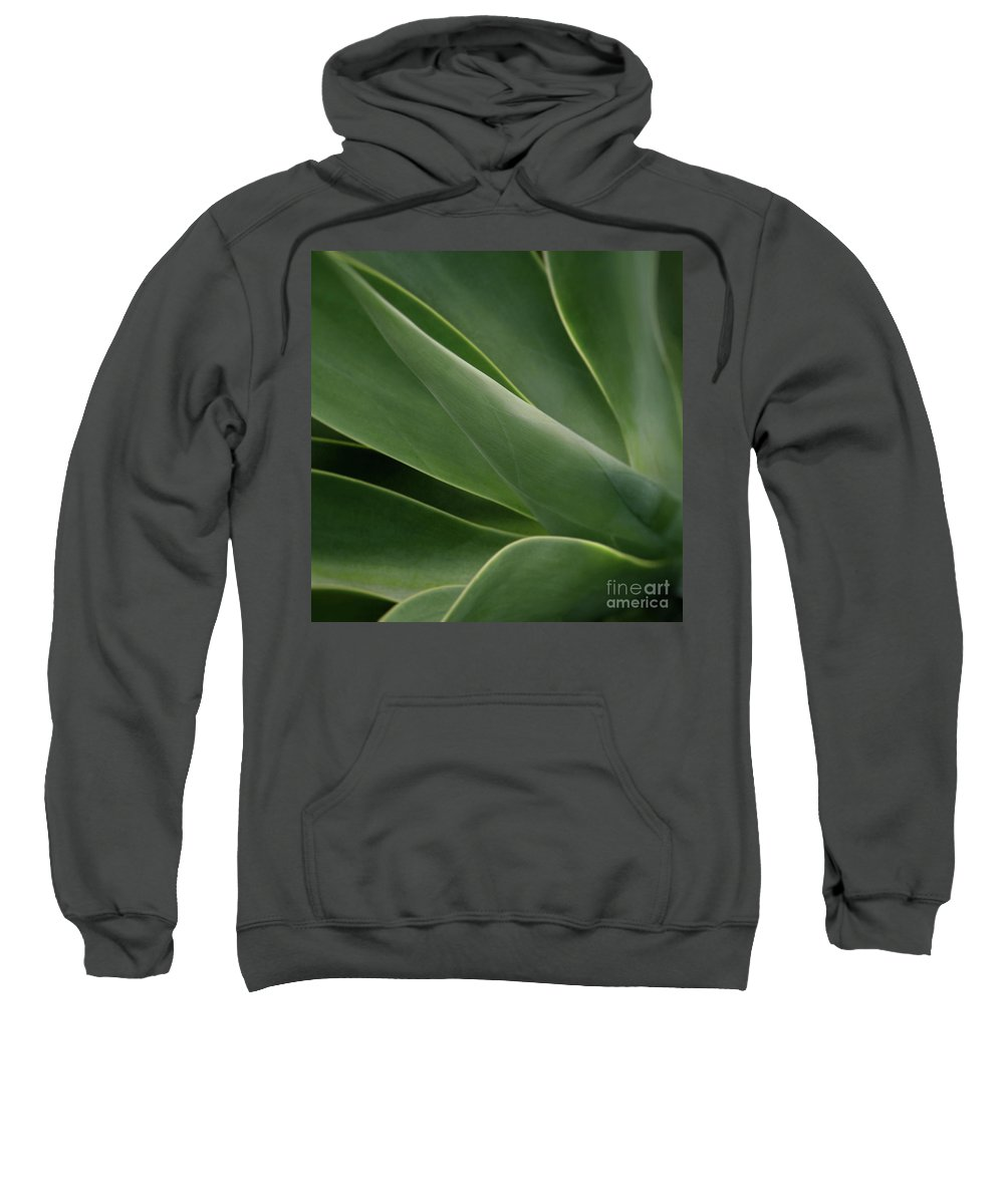 Agave Sweatshirt featuring the photograph Natural Impressions by Sharon Mau