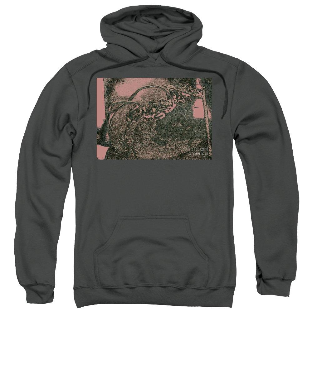 Nature Art Photography Sweatshirt featuring the photograph Nature Art by Kim Henderson