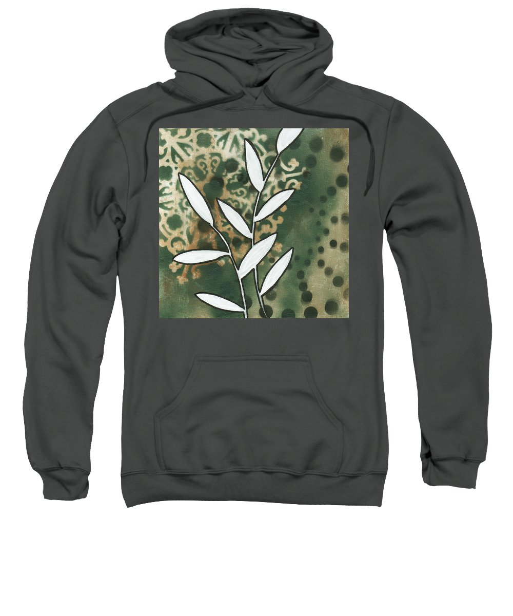 Painting Sweatshirt featuring the painting Natures Whimsy 5 By Madart by Megan Duncanson
