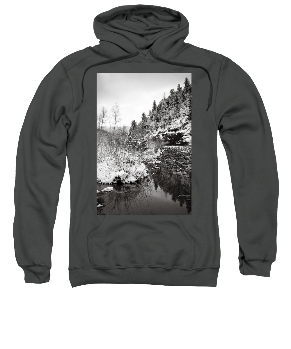 Winter Sweatshirt featuring the photograph Near Telluride Colorado by Marilyn Hunt