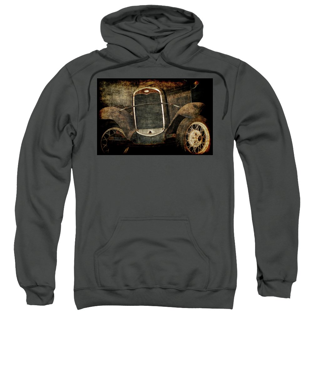 Old Fords Sweatshirt featuring the photograph Needs Help by Ernie Echols