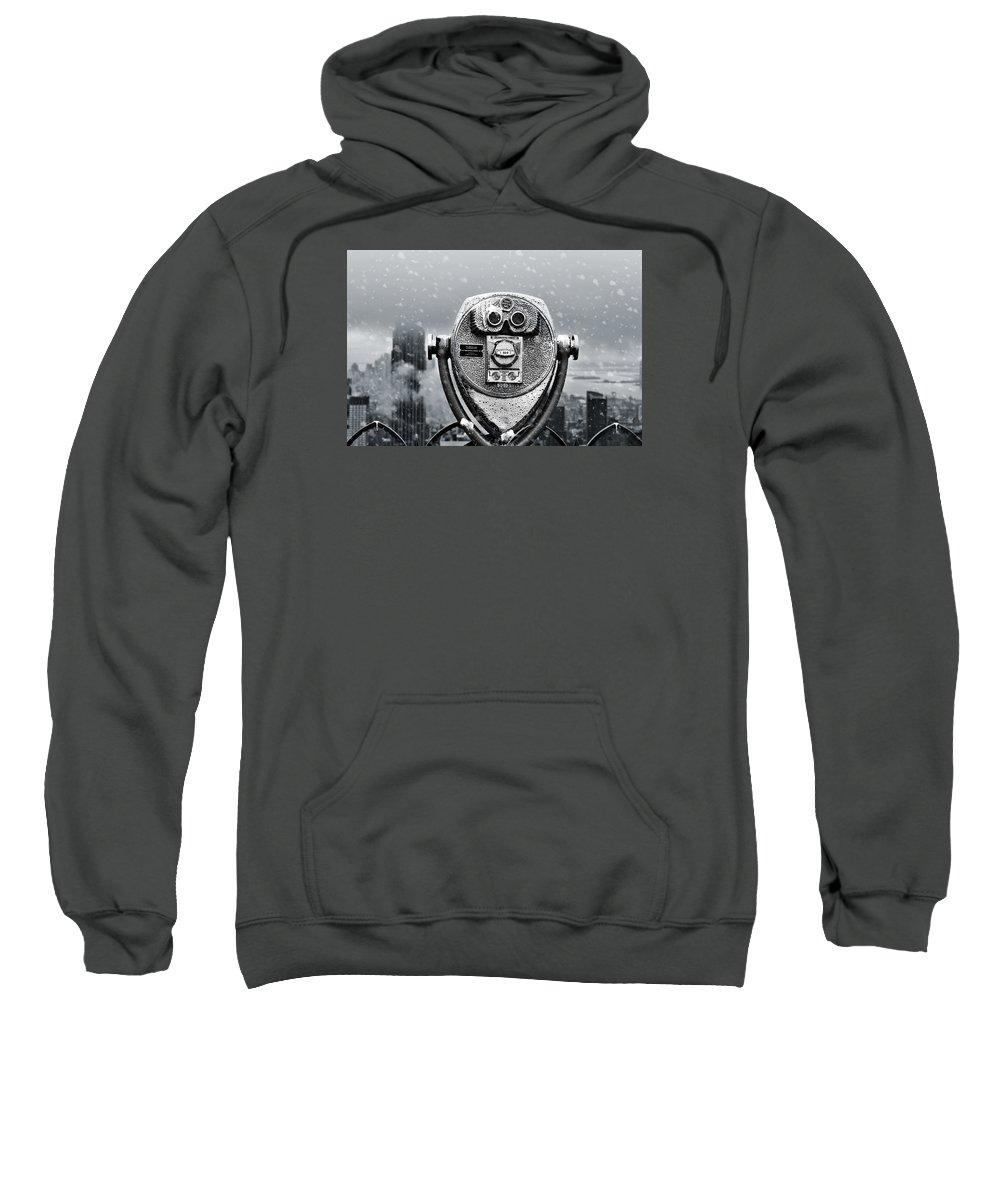 New York City Sweatshirt featuring the photograph New York Views by Richard Bartlett